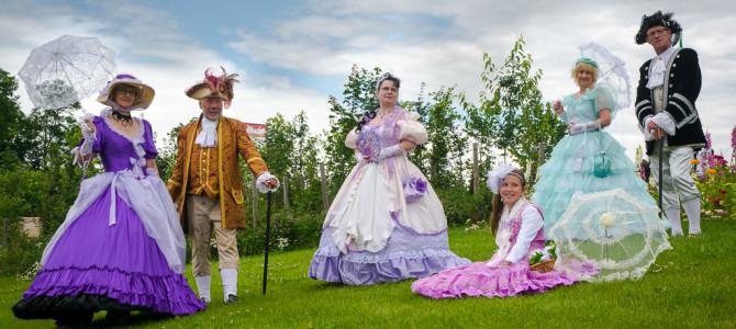 Barock-Rokoko auf der Landesgartenausstellung